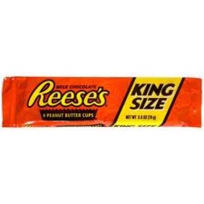 Hershey Reese Peanut Butter Cups king 24x62g