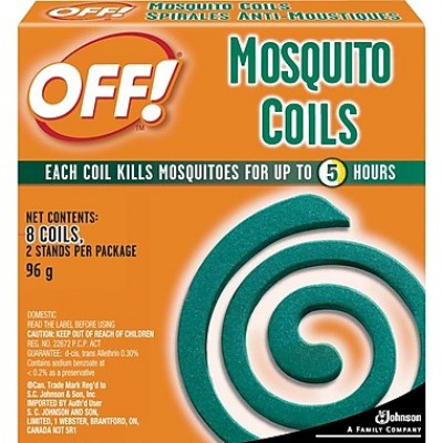 Off Mosquito Coils 8's - Minimum Purchase QTY of 4 Units