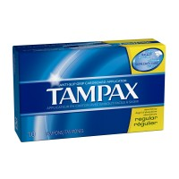 Tampax Regular 10's x 48 per case - Minimum Purchase QTY of 4 Units