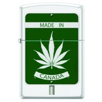 Leaf Lighter, #214 MADE IN CANADA WHITE MATTE
