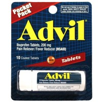 Advil Tablets Tubes 10