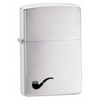Zippo Pipe Lighters Brushed Chrome (200PL)