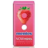 Mentos NOW Mints Strawberry 12x18g x 12 per case
