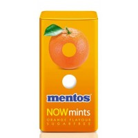 Mentos NOW mints Orange 12x18g x 12 per case