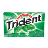 Trident Slab Spearmint 12's x 12 per case