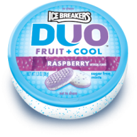 Icebreakers Duo Raspberry Mints 6x36gx 12 per case