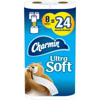 Charmin Ultra Soft Triple Rolls 8 Count / 5 per case