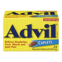 Advil Caplets 24 - Minimum Purchase QTY of 4 Units