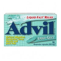 Advil Liquid Gel Caplets 16's - Minimum Purchase QTY of 4 Units