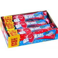 Airheads Big Bar Raspberry/Cherry 24's x 12 per case