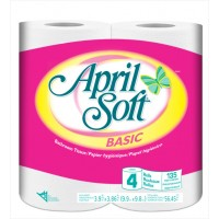 April Soft Toilet Tissue 24/4's