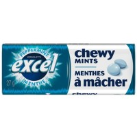Excel Mints Chewy Peppermint 10's
