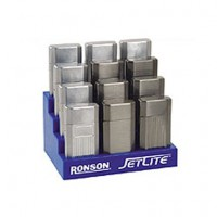 Ronson Jet Lite Blister Card Display 12's