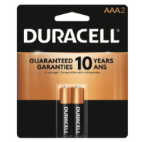 Duracell Coppertop AAA 2 pack - Minimum Purchase QTY of 4 Units