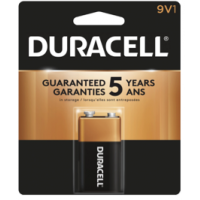 Duracell Coppertop 9 volt 1 Pack - Minimum Purchase QTY of 4 Units