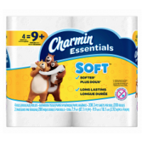 Charmin Essentials 4 Giant Rolls x10