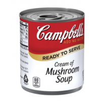 Campbells Cream Of Mushroom Soup Easy Open 24x212ml - Minimum Purchase QTY of 4 Units