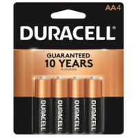 Duracell Coppertop AA4 PACK