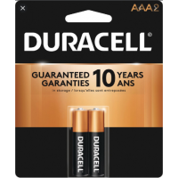 Duracell Coppertop AAA 2 PACK