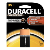 Duracell 9 V Batteries x1